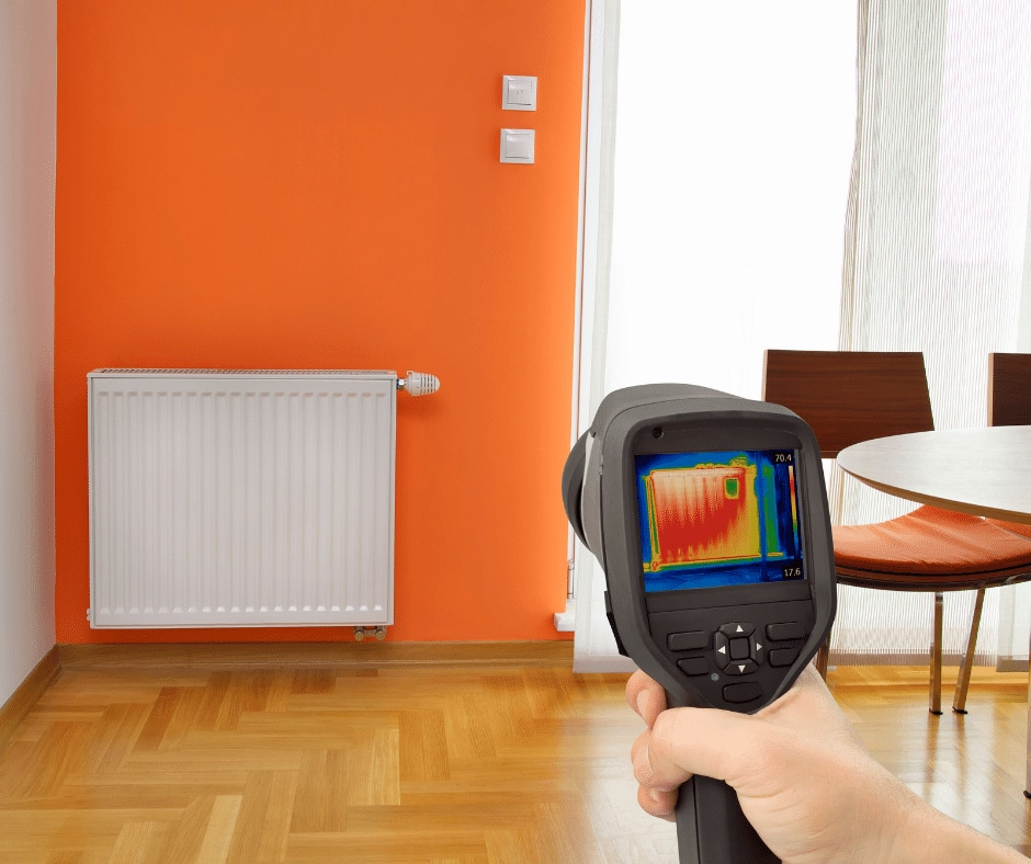 Superior Home Inspections Service page -Thermal Imaging